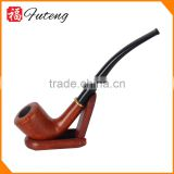 Wholesale Briar Tobacco Pipe Wood Herb Pipe Handmake Long Smoking Pipe
