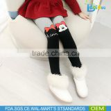 Hot sale cartoon child girls tights pantyhose warm durable children pantyhose