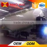 Bulker cement silo tanker trailer 3 axles semi trailer for sale