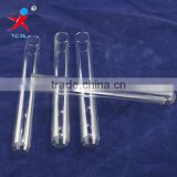Transparent teat glass