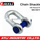 SKC-M4-G215DR-1-3/8 HG US type shackle in chains
