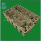 Environmental bagasse pulp mold tray, electronic equipment protection packaging