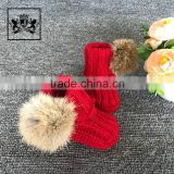 New Arrival Winter Girl Christening Baptism Booties Fancy Baby Girls Shoes