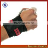 Wholesale High Quality Custom Professional Crossfit Adjustable Wrist Strap Weight Lifting Wrist Wraps support JH33