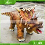 Interactive riding real walking dinosaur kids
