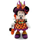 Cheap Halloween Time Minnie Mouse Plush -- 9'' H