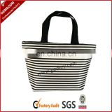 Stylish zebra print tote bag for ladies