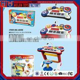 Factory direct sale children self-contained complete electronic organ toys