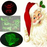 Santa Clause Christmas Laser light Holiday laser light Outdoor laser light