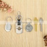 Hot Sale Creative promotional aluminum carabiner keychains