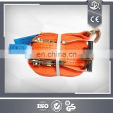 2'' 5 T High Quality Galvanized Cargo Lashing Ratchet Tie Down Strap