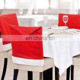 Home Decoration Christmas Chair Seat Cover Santa Claus Christmas Kitchen Chair Covers - Dining Chair Slipcovers