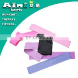 OEM manufacture resistance bands loop,exercise loop bands with logo