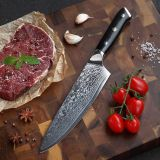 Best Quality 67 Layer  japanese steel damascus knife chef