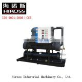 Water-cooled chiller for industry