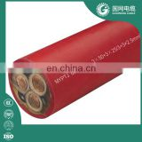 6/10KV EPR MV Rubber Cable Metal Shielding Rubber flexible Mining Cable