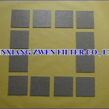 Stainless Steel Sintered Powder Filter Plate