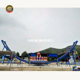 China High Quality Funfair  Carnival Amusement Rotation Saucer  Rides Flying UFO For Sale