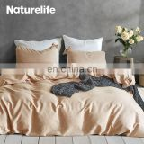Hot Sell Wholesale Australia 100% Polyester King Size Leaf Print Brand Bed Cover Sheet Bedding Set