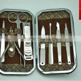 PU manicure set business gifts Product promotion gifts Brand is the ideal advertising gifts manicure set