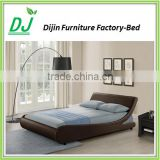 Factory Direct Selling Queen Size Bed Promotional leather bed