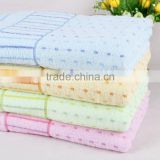 100% cotton high quality jacquard style factory price bath towel fabric bath towel wholesale