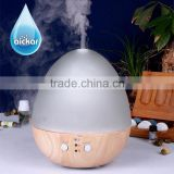 Special Design Aickar Glass and Wood Material Ultrasonic Essential Oil Aroma Diffuser Humidifier Air Cool Mist Hotel Lobby Spa