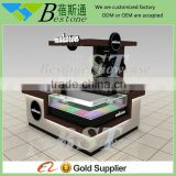 Customized manicure table vacuum and nail salon furniture from china