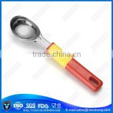 PS handle ice cream stainless steel spoon,tea spoon