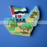 Palm Beach Flag Camel I Love UAE Map Shape Frrdge Magnet