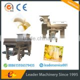Leader ripe banana peeling and beating machine with CE&ISO