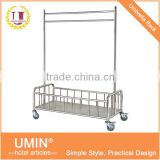 Stainless Steel Linen Hanging Trolley