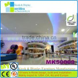 lovely MDF Clothing store furniture Custom furniture for shoe store in mall