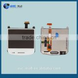 unlocked phone wholesale LCD touch screen and digitizer assembly for Blackberry Bold 9900 white