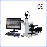 4XCE Trinocular Inverted Optical Metallurgical Microscope with Camera and CCD or Portable Metallurgical Microscope
