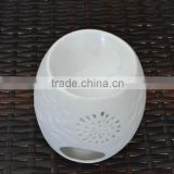 White porcelain electric ceramic oil burner