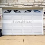 WHITE color overhead garage door with window Automatic Remote Controlled overhead garage door opener Galvanized steel /Aluminum                                                                                         Most Popular