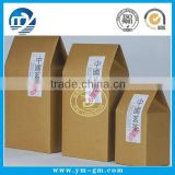 Custom paper packaging tea box with top sale                                                                         Quality Choice