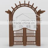 house gate designs garden decoration aluminum garden arc