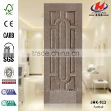 JHK-012 Slipknot Good Quality 9 Nine panel OEM African Style MDF Padauk Veneer Moulded Door Skin