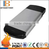 Wholesale oem power battery 36v 10ah lithium battery with rear carrier type for electric bicycle, with longer cycle