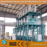 complete set of wheat flour milling machine, pneumatic wheat flour roller mill, wheat flour mill project
