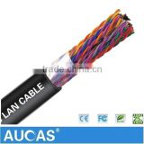 Armoured Multi Pair Cable Cat5 Lan Cable For Outdoor 0.4mm Or 0.5mm Underground Telephone Cable