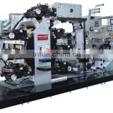 High Quality rotary letterpress 5 color flexographic printing press label printing machinery