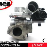 17201-0L040 CT16V Toyota turbo turbocharger 1kd HILUX SW4