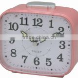 Plastic square table alarm clock