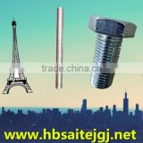Saite Fastener, Din975 galvanized M6-M36 black all thread rod from the factory of yongnian county
