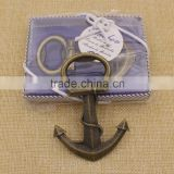 Promotion custom metal anchor bottle opener                                                                         Quality Choice