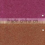 2015 New Fashion Colorful PU glitter leather fabric