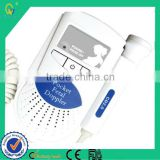 Best FDA Approved Medical Ultrasound Equipment Fetal Doppler For Clinic